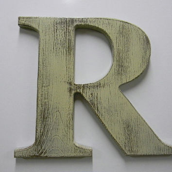 wooden letter d wooden letter rustic wall hanging letter from woodzproducts 25673