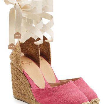 Canvas Espadrille Wedges - Castañer | WOMEN | US STYLEBOP.COM