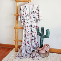 Jardine Wrap Maxi Dress