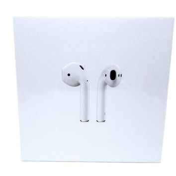 Apple AirPods White Wireless In-Ear Headphones -New & Bubble Wrapped- Fast Ship!