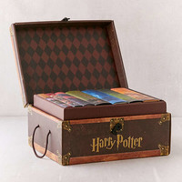 Harry Potter Books 1-7 Collectible Trunk Set By J.K. Rowling | Urban Outfitters