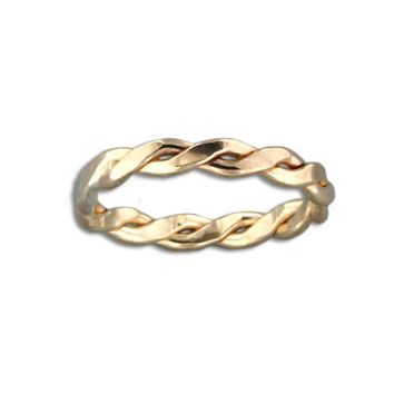 Braid Ring - Gold Filled