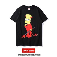 Cheap Women's and men's supreme t shirt for sale 501965868-0137