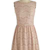 ModCloth Sleeveless A-line Happily Ever Actor Dress