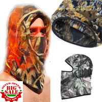 Camouflage Tactical Army Thermal Fleece Balaclava