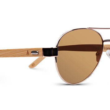 Wooden Sunglasses // Top Gun 52