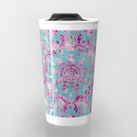 Reinventing A Taste of Lilac Wine Travel Mug by Octavia Soldani | Society6
