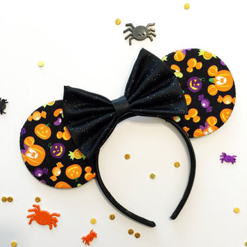 Pumpkin Mouse and Candy Ears