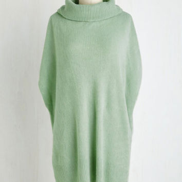 Pastel Long Sleeve Film Festive Sweater Size OS by ModCloth