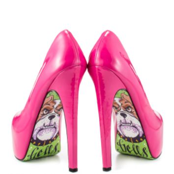 TaylorSays - Hells Bells - Magenta, Taylor Says, 179.99, FREE 2nd Day Shipping! - TaylorSays Shoes by Taylor Reeve