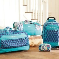 Jet-Set Pool Clover Rolling Duffle