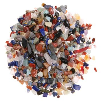 100g/Bag Colorful Irregular Tumbled Stones Healing Crystals and Gemstones Rock Tumblestones Gems Beads Decoration