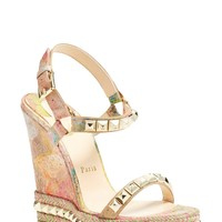 Christian Louboutin 'Cataclou' Wedge Espadrille Sandal | Nordstrom