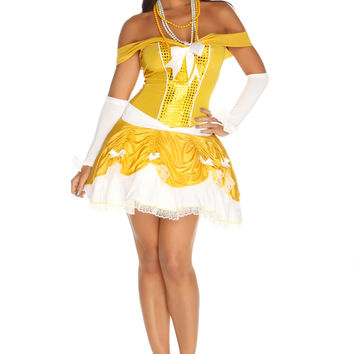 Yellow Undeniable Beauty Costume