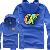 Odd Future Awesome Donut Blue Hoodie