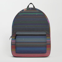scanner stripes Backpack by duckyb