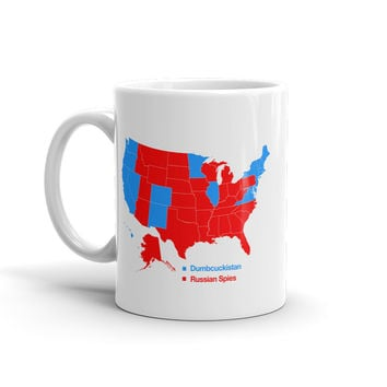 2016 American Map According To Internet Mug
