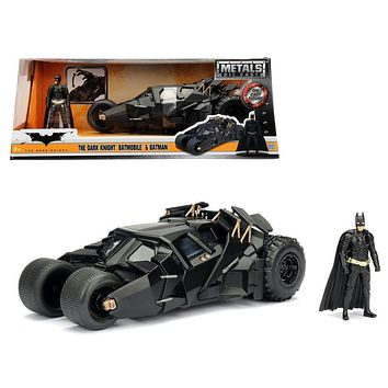 2008 The Dark Knight Tumbler with diecast Batman Figure 1/24 Diecast Model Car-by Jada