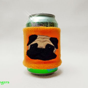 Cold Drink Can Koozie for Dog Lovers