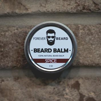SPICE SCENTED BEARD BALM