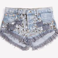 Wunderlust Citizen Studded Babe Shorts