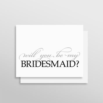 Will You Be My Bridesmaid // Luxe Style