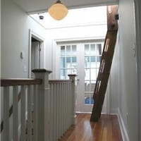 Ship's Ladder for Loft/Library/Attic - Custom Built - Double Ladder