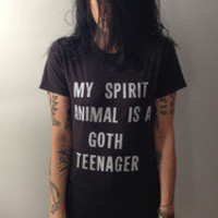Heather Gabel — My Spirit Animal is a Goth Teenager