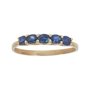 Genuine Blue Sapphire Ring