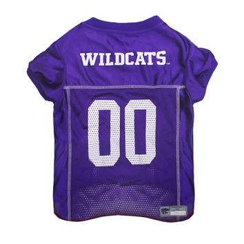 Mirage Pet Sports Fan Team Logo Design Kansas State Wildcats Pet Dog Cat Comfortable Jersey Small