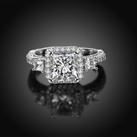 Engagement Rings Silver