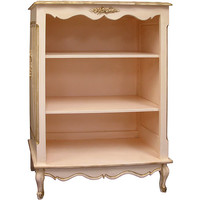 Bonne Nuit French Bookcase in Versailles Finish
