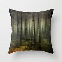 Why am I here Throw Pillow by happymelvin