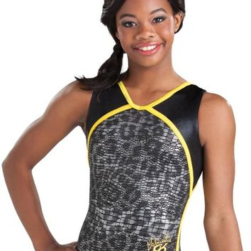 Gabby Douglas Ice Cat Workout Leotard from GK Elite