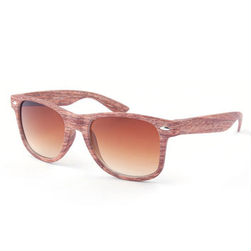 Wooden Imitation Retro Glasses In 6 Colors