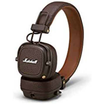 Marshall Major III Bluetooth Wireless On-Ear Headphone, Brown - New