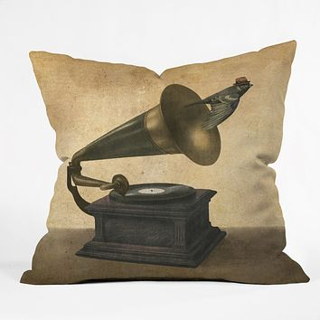 Terry Fan Golden Age Throw Pillow
