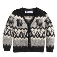 crewcuts Boys Industry Of All Nations Hand-Knit Alpaca Cardigan Sweater