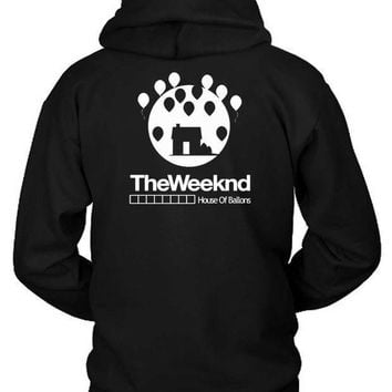 The Weeknd House Of Ballons Two Hoodie Two Sided