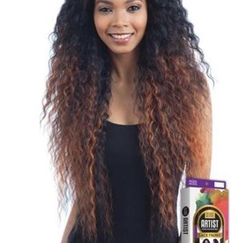 MODEL MODEL HUMAN HAIR BLEND - LACE FRONT- I PART - ARTIST 213