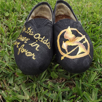 HUNGER GAMES Hand Painted Toms