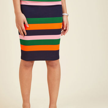 Foretold of Bold Pencil Skirt