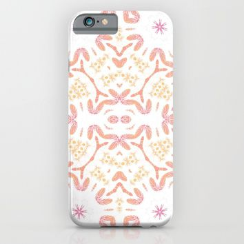 Boho Feathers iPhone & iPod Case by ALLY COXON