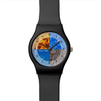 Four Elements Wrist Watches