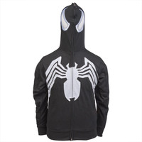 Spider-Man - Venom Eyes Costume Zip Hoodie