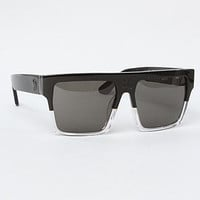 The Vector Sunglasses in Black & Clear
