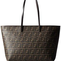FENDI Zucca pattern 8BH185-00G87 / F0QT2 Leather Tote Bag