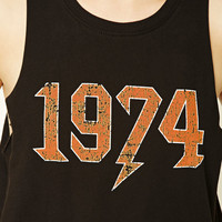 1974 Graphic Tank Top