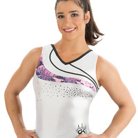 Aly Raisman Silver Star Leotard from GK Elite