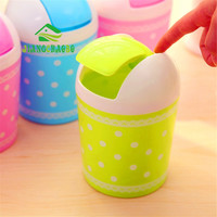1 Pc Sweet Lace Little Mini Desktop Bin Trash Can Office Of Health Barrels Receive A Barrel Mini Dustbin